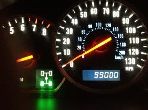 odometer 99000