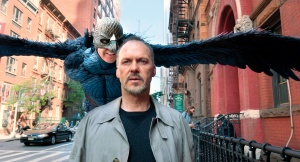 Riggan Thomson (Michael Keaton) and his alter ego, Birdman
