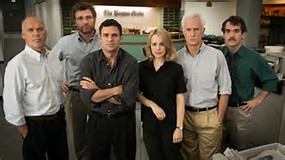 "Outstanding cast in ""Spotlight"""